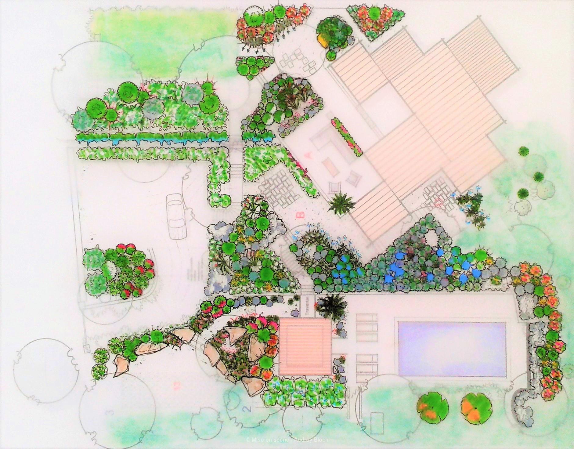 Jardin provençale